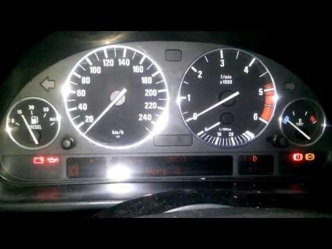 Заводим BMW E39 DIESEL 2.5TDS в небольшой мороз