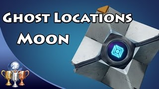 Destiny - All Moon Dead Ghost Locations (Ghost Hunter) [Collectibles 21-29]