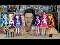 My Little Pony Equestria Girls 2018 Hasbro Reboot Doll Collection Unboxing Review