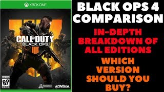 Call Of Duty Black Ops 4 Special Editions vs Regular Game - Which Version Should You Buy?