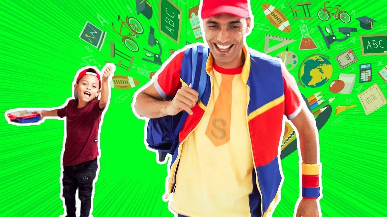 عمو صابر وكرم ومستلزمات المدرسة - amo saber and karam school accessories