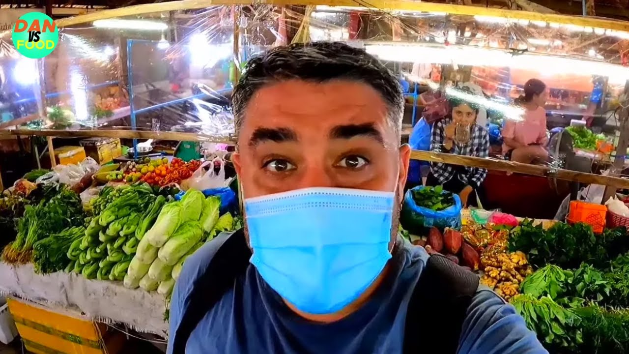 Shopping at Nong Duang Market + Thailand Re-opening \u0026 Covid Update in Vientiane, Laos