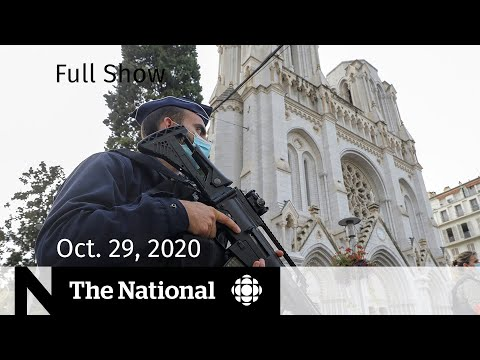 CBC News: The National | Deadly knife attack at French church | Oct. 29, 2020