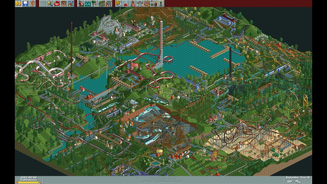 Image [ 23 of 50 ] - Rollercoaster Tycoon Classic Part of
