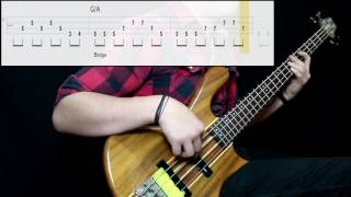 Marvin Gaye & Tammi Terrell - Ain't No Mountain High Enough (Bass Cover) (Play Along Tabs In Video)