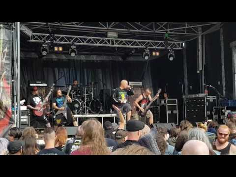 Kraanium - Live at Stongehenge fest in Steenwijk Holland on 29-7-2017