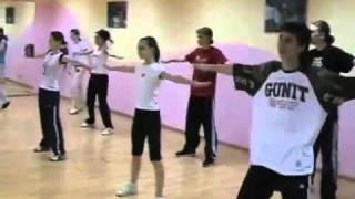 Клубный танец, хип хоп  Обучение танцу  mp4