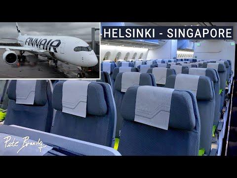 TRIP REPORT | Finnair | Airbus A350 | Helsinki - Singapore | Economy