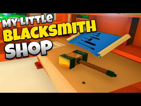 Best Blacksmith Ever! - My Little Blacksmith Shop Gameplay