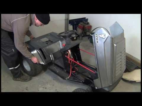El Thorattor - Electric Garden Tractor / the build