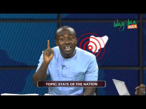 STATE OF THE NATION WITH LARRY EMENIKE, POLITICAL ANALYST. CROSS FIRE