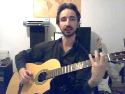 Flamenco Guitar Bass Note Runs: Guitar Lessons in North London with Nat Yelverton
