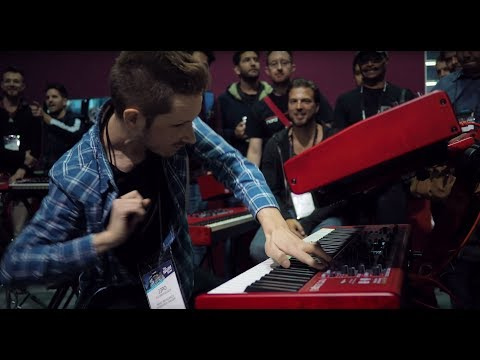 """Nord at NAMM 2019: Julian """"J3PO"""" Pollack feat. Lenny """"The Ox"""" Reece and Antoine Katz"""