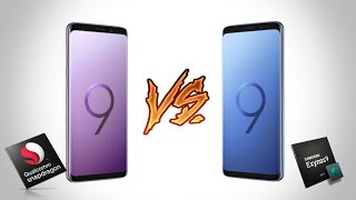 OFFICIAL Galaxy S9 Snapdragon 845 VS Exynos 9810 Which Is Faster?