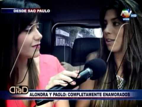 Alondra García Miró y Paolo Guerrero en Día D