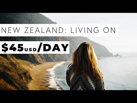 New Zealand Travel Budget- Campervan Roadtrip- Less than $50 per person per day! - Познавательные и прикольные видеоролики