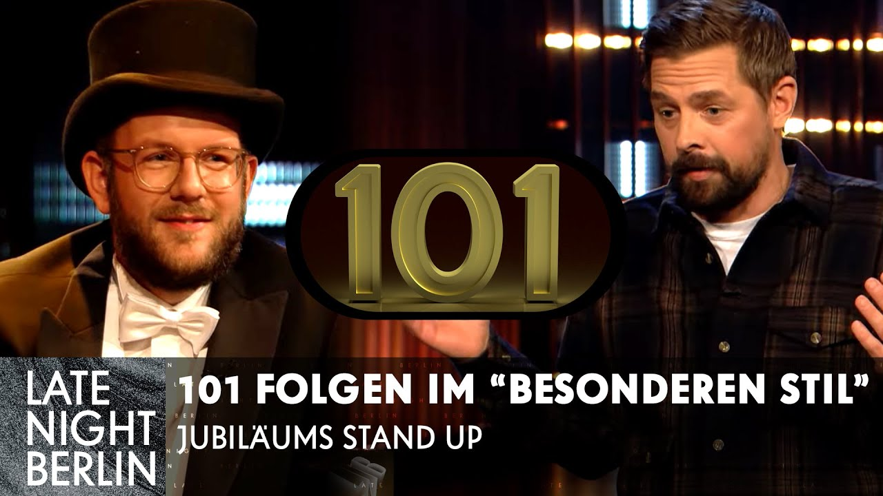 101 Folgen Late Night Berlin & das neueste von der Bild | Stand Up | Late Night Berlin | ProSieben