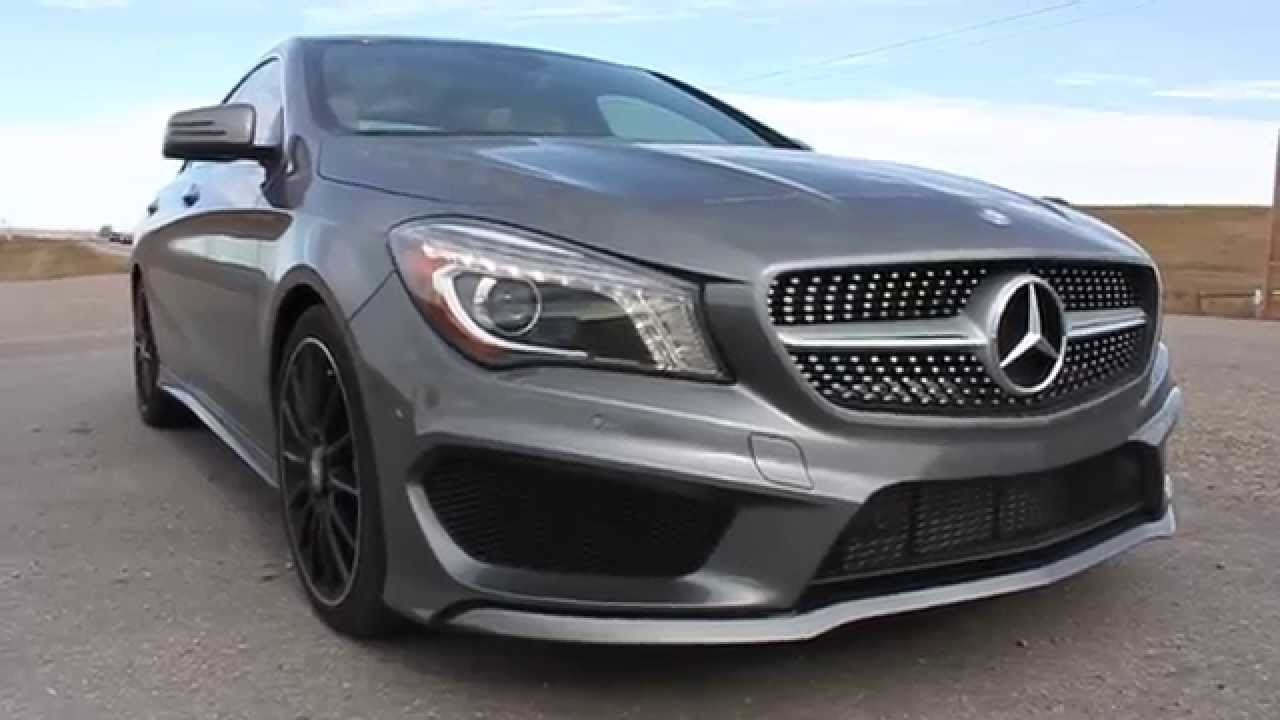 2014 mercedes cla 250 amg package youtube. Black Bedroom Furniture Sets. Home Design Ideas