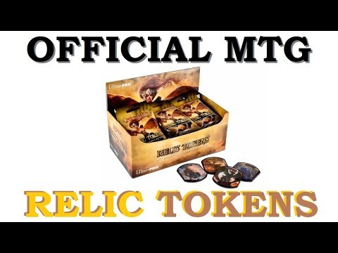MTG RELIC TOKENS Booster Box Opening FOILS | Magic The Gathering