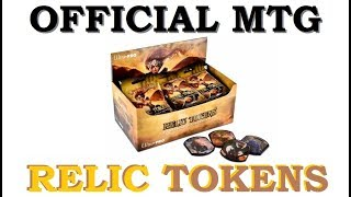MTG RELIC TOKENS Booster Box Opening FOILS   Magic the Gathering