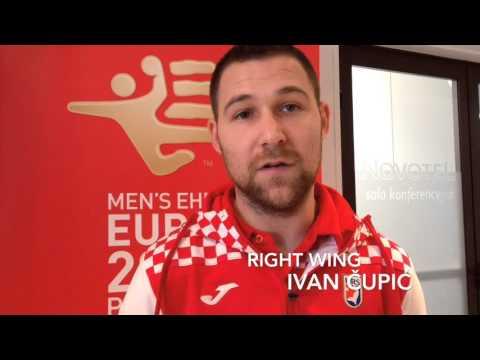 Media day with team Croatia