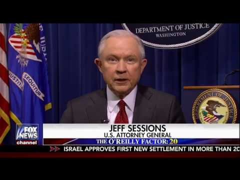 Bill O'Reilly Interviews AG Jeff Sessions 3-30-17