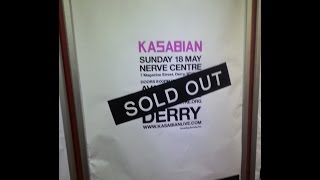 Kasabian Underdog Live @ The Nerve Centre Derry