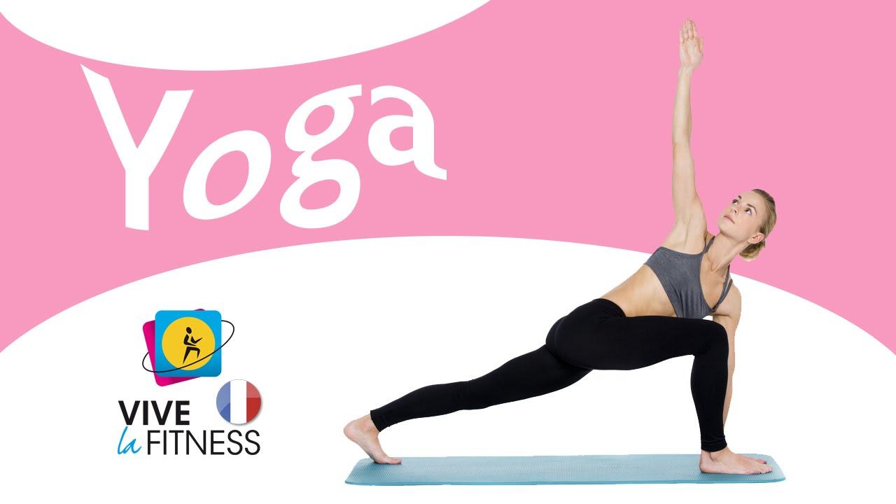 exercices de yoga pour d butants youtube. Black Bedroom Furniture Sets. Home Design Ideas
