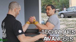 Techniques avancées bras de fer par Aymeric Pradines
