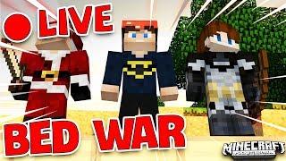 JAYGRAY LIVE STREAM CHƠI MINI GAME: MINECRAFT BED WAR - TẬP 11(CUỘC CHIẾN PHÁ GIƯỜNG NGỦ)  !!!