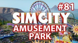 SimCity Amusement Park DLC - Walkthrough Part 81 - Fully Upgraded