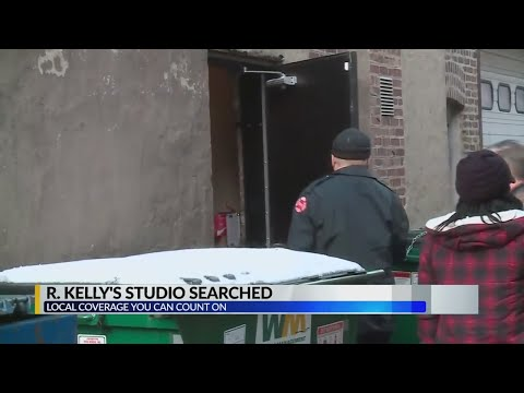 R.Kelly Chicago studio searched Mp3