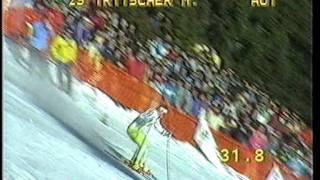 Alberto Tomba - World Cup Slalom 1988 - Madonna di Campiglio
