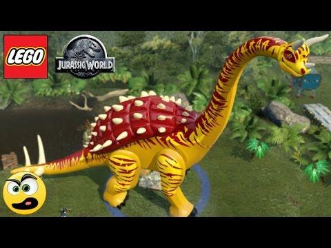 LEGO Jurassic World Como Personalizar Dinossauros (Mudar ...