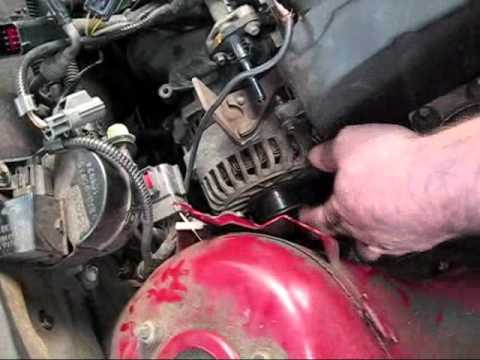 hqdefault alternator replacement 2001 focus youtube 2004 ford focus alternator wiring diagram at webbmarketing.co