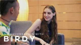 A Conversation with Birdy — on Snapchat, her biggest fear onstage, and drawing Singaporean bands