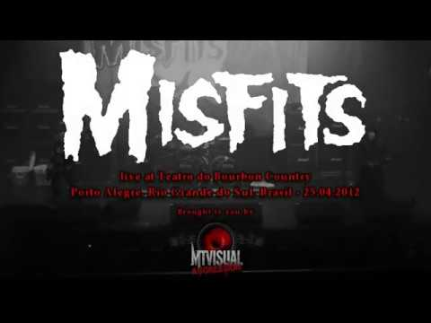 THE MISFITS - Live at Teatro do Bourbon Country - Porto Alegre [2012] [FULL SET]