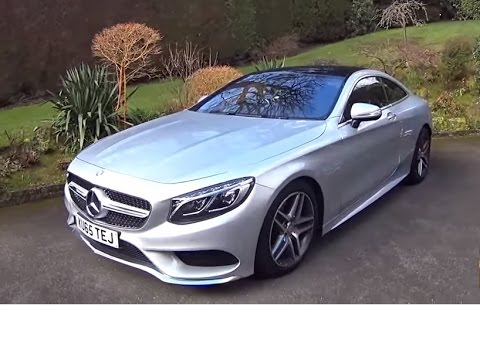 mercedes s500 amg coupe full review youtube. Black Bedroom Furniture Sets. Home Design Ideas