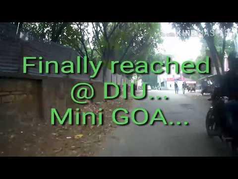 Gujarat cycling Day 3 | Mahuva to Diu | mini goa of india