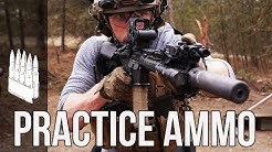 What practice ammo should you use? (AR-15 / M4)