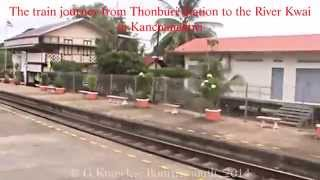Kanchanaburi, and the River Kwai Bridge, the train journey there, Thailand. ( 10 )