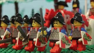 Medieval Battle and Siedge - XVI century (LEGO stop-motion)