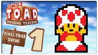 Let's Play CAPTAIN TOAD: TREASURE TRACKER - TOAD AMIIBO DLC Part 1: Pixel-Toad Jagdsaison!