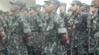 Formatura Militar do Exército Brasileiro