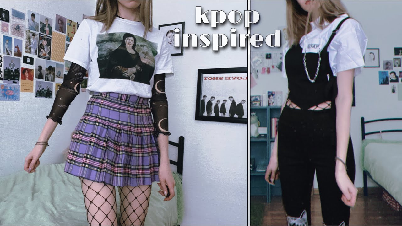 what cool people wear to kpop concerts (haul)