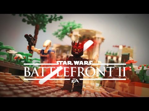 Star Wars Battlefront 2 : Trailer in LEGO !