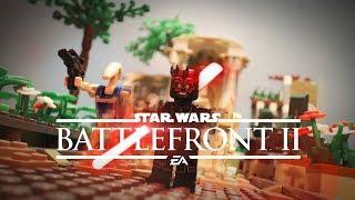 Star Wars Battlefront 2 : Trailer in LEGO !