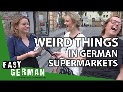13 weird things in German supermarkets | Easy German 262
