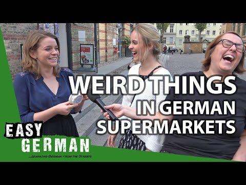 13 weird things in German supermarkets | Easy German 262