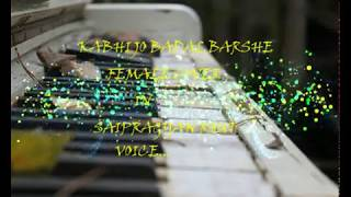 Kabhi Jo Badal Barse - Female - Cover By saipragyan - YouTube